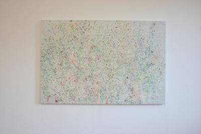 aus der Serie: Freude, 2016, Eitempera auf Leinwand, 80 x 120 cm